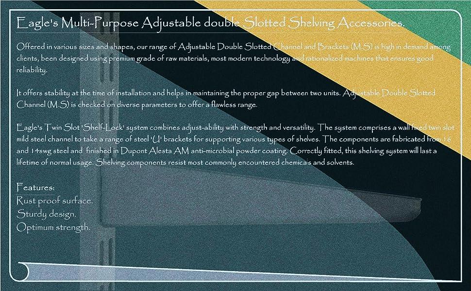 adjustable shelving accessories