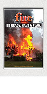 Fire Preparedness poster