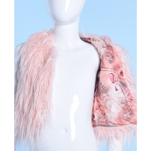 girls fur vext outfit jacket