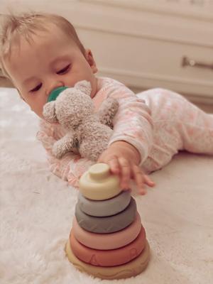 Mini Tudou Stacking Nesting Toys Montessori Sensory Toys for babies 6 to 12 months-2