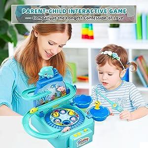 Fishing game toy