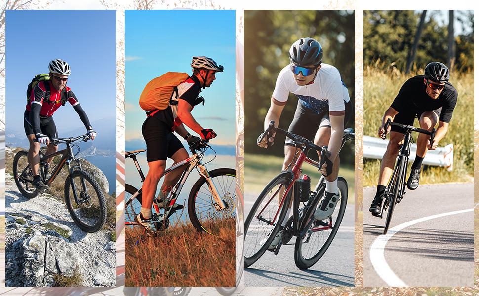 Men's Bike Shorts 4D Padded