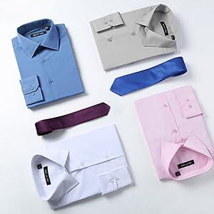 Classic Fit Men Dress Shirt