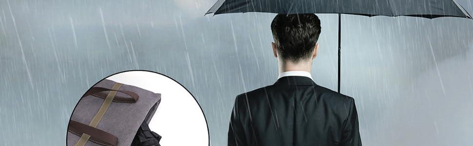 parapluies portables et l/égers avec poign/ée ergonomique Violet violet L Fimghsoo Parapluie de voyage pliable UV avec 10 baleines renforc/ées coupe-vent et coupe-vent