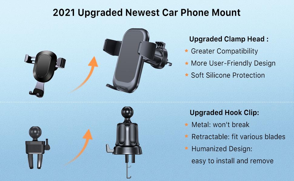 car phone holder mount vent holder vent mount  vent phone holder phone car mount air vent mount