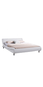 Queen White Bed Frame