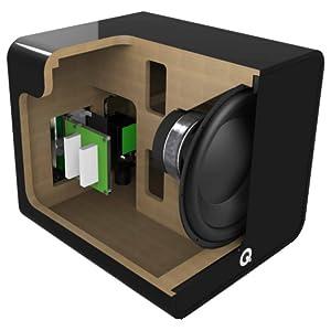 Q Acoustics Q B12 subwoofer cabinet