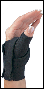 Comfort Cool Thumb CMC Restriction brace pain inflammation instability arthritis swelling overuse