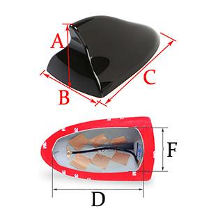 Mitsubishi Shark Fin Antenna Mazda