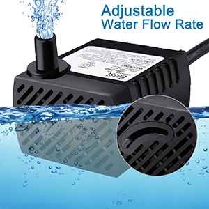 3.6W 250L//H Pond Fountain Solar Fountain Water Pump With Battery and LED Light