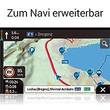 Z-N965: Navigation für PKWs und Reisemobile