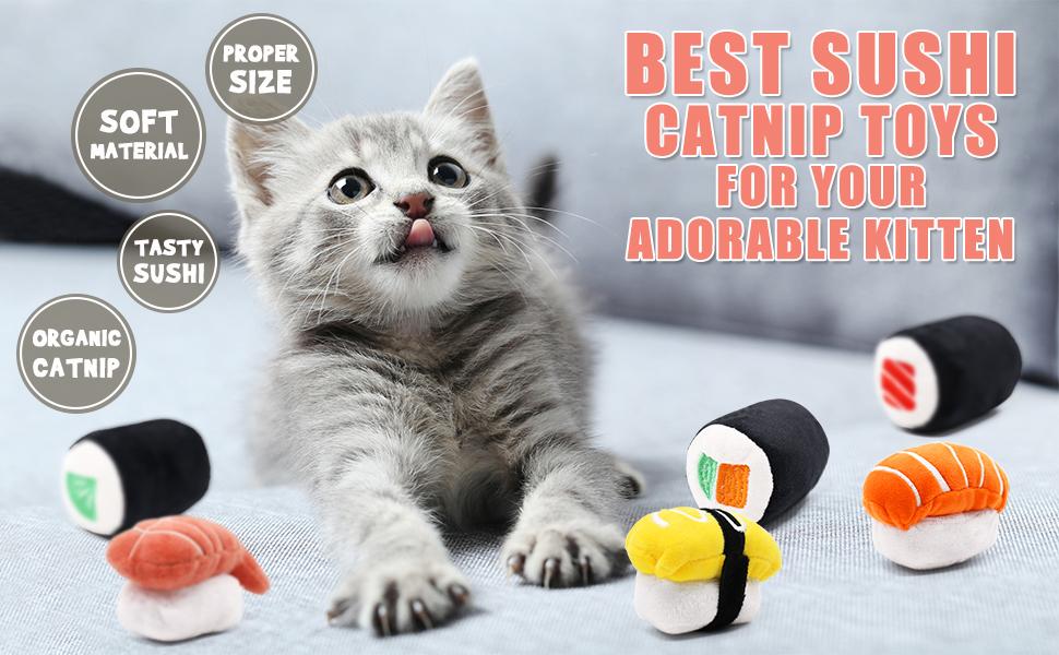 Sushi Cat Toys