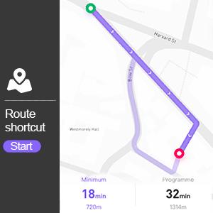 route shortcut