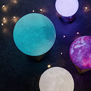 moon lamp 16 colours light mode