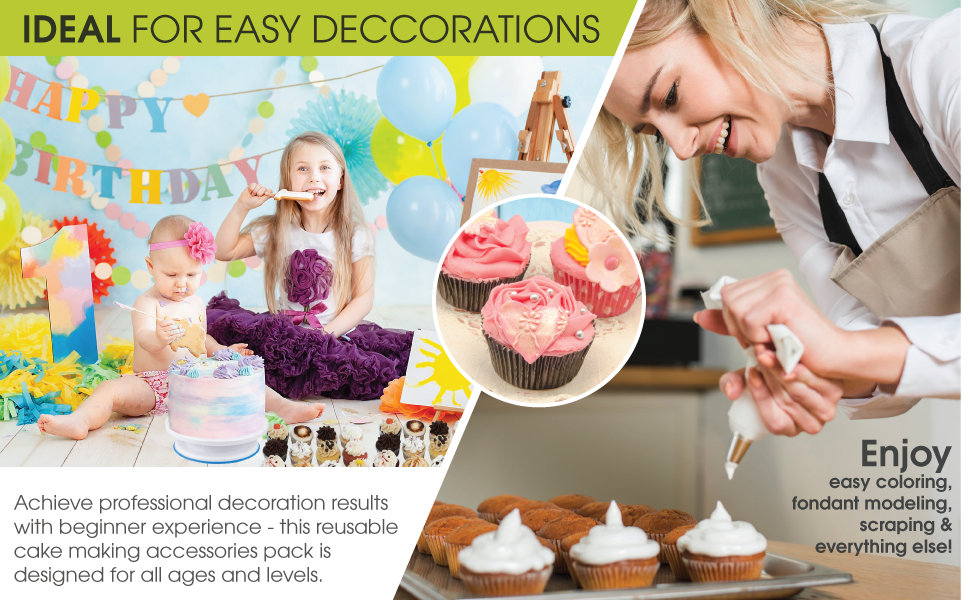 cake decorating set decorating tips angled spatula decorating tips and bags piping bags reusable ca