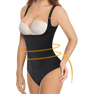 Taillenformer Miederbody stark formend Formbody Bodysuit Damen