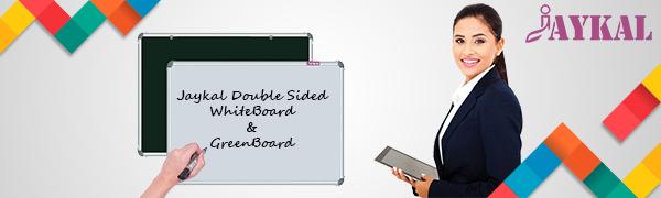 jaykal double sided whiteboard and greenboard