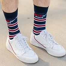 MeMoi Americana Novelty Socks My Vote Counts
