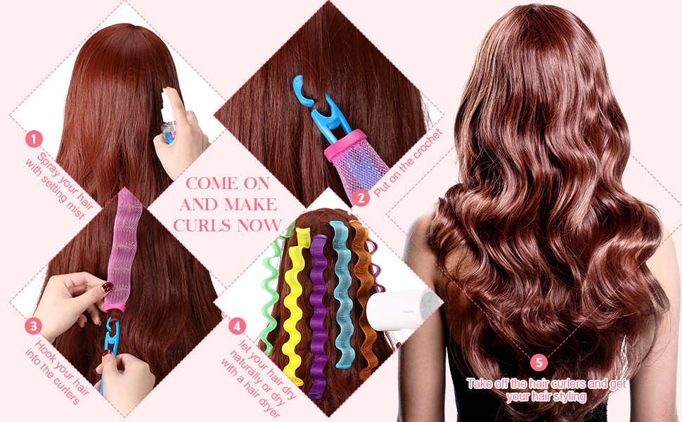Women Girls Short Hair Styling Tool 30 cm