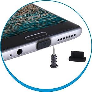 Samsung dust plugs