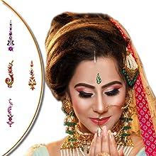 wedding bindis, bindis, comet busters bindis, indian bindi