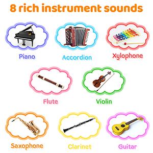 8 Rich Instrument sounds