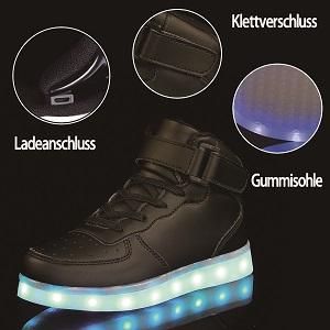 Licht Turnschuhe Leuchtend Blinkschuhe Sportschuhe U.Expectating Baby Kinderschuhe LED M/ädchen Jungen