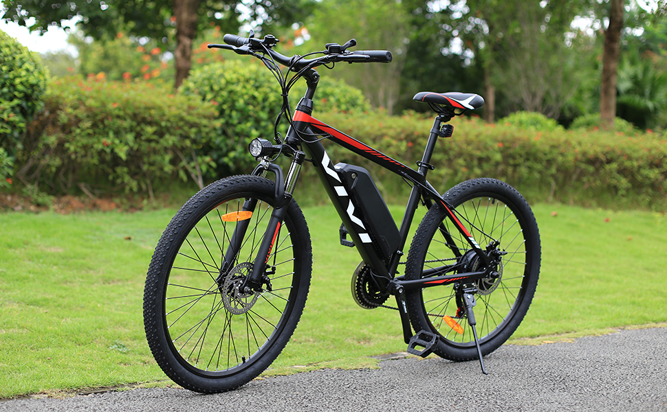 E-Bike with 21 Speed Grears