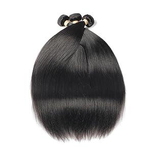Brazilian Straight 3 Bundles Deal Human Hair Extension