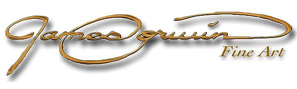 James Corwin Fine Art Brand Company Logo Amazon Banner