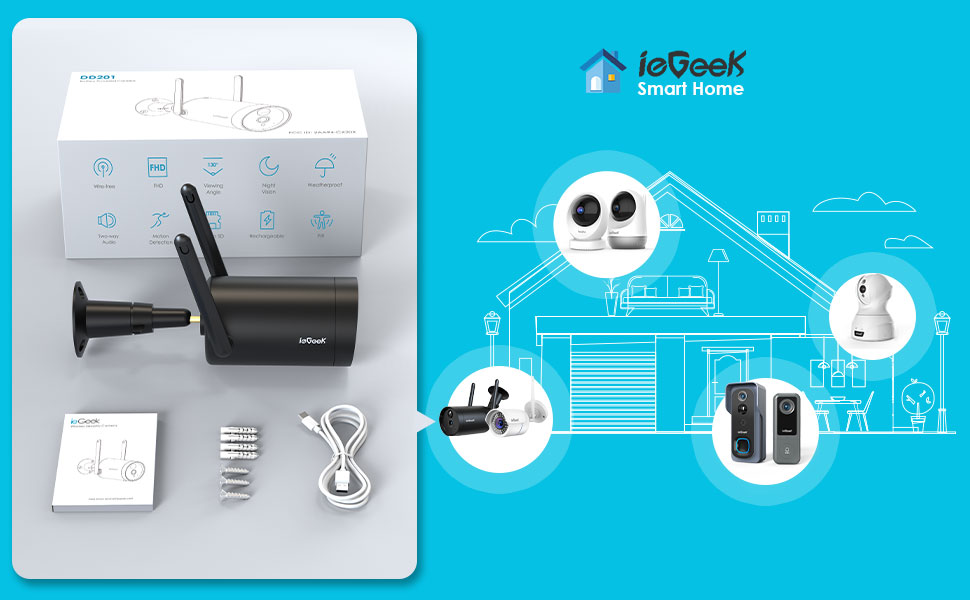 iegeek smart home devices