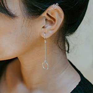 Earring Hoop Nose Piercing Jewelry