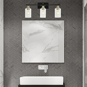 3-light bathroom lighting