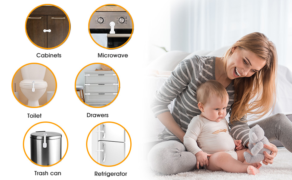 cabinet and drawer locks child safety baby proof cabinet latches children cabinet safety locks