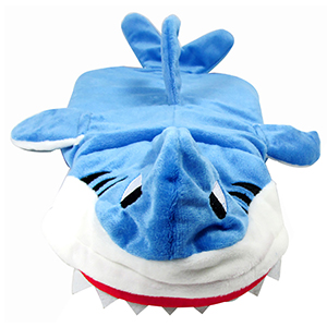 Pet Costume Shark Sweater Outfit Puppy Jumper Cat Pajama Clothes