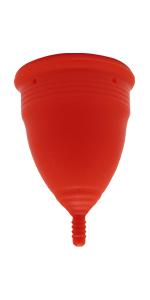 Copa Menstrual Sileu Cup Tulip - Flexible fácil de poner y ...
