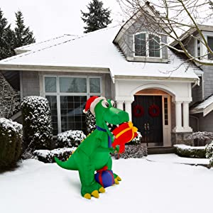 Christmas Inflatables Yard Decorations