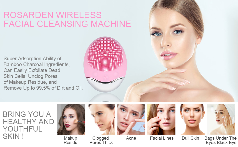 Electric Silicone Face Brush