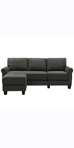 grey green sectional
