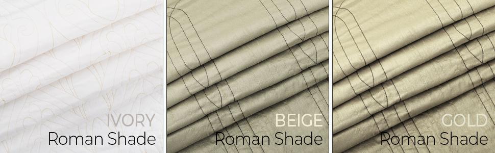 Roman Fabric Shade