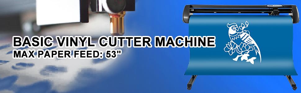 VEVOR Plóter de Corte 1350mm Máquina Cortadora de Vinilo con Soporte de Piso Plóter de Vinilo de Fuerza y Velocidad Ajustables para la Fabricación de Signos: Amazon.es: Electrónica