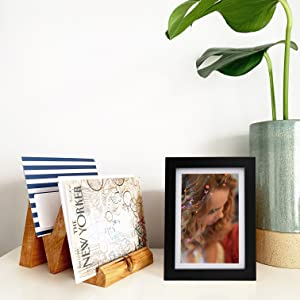 5x7 picture frames black table top