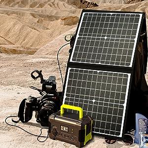 キャンプや防災に役立つソーラー充電器