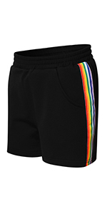 Mirawise Girls Athletic Shorts Play Soccer Sports Basketball Shorts 4-13Y