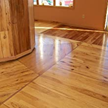 Lacquered floor
