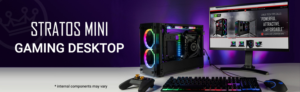 CUK Stratos Mini Gaming Desktop PC