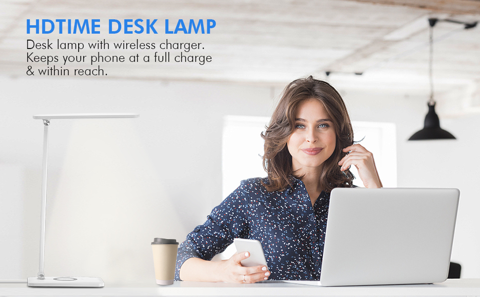 WIRELESS CHARGER DESK LAMP