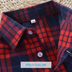 plaid shirt button down