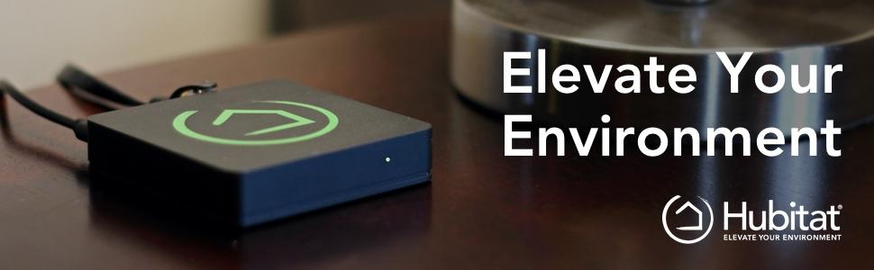 hubitat elevation hub elevate your environment