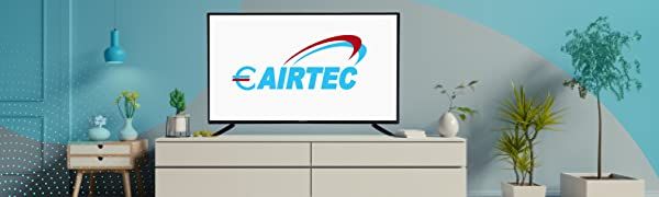 eairtec airtec 55 inches smart tv ultra hd 4k led lcd television monitor